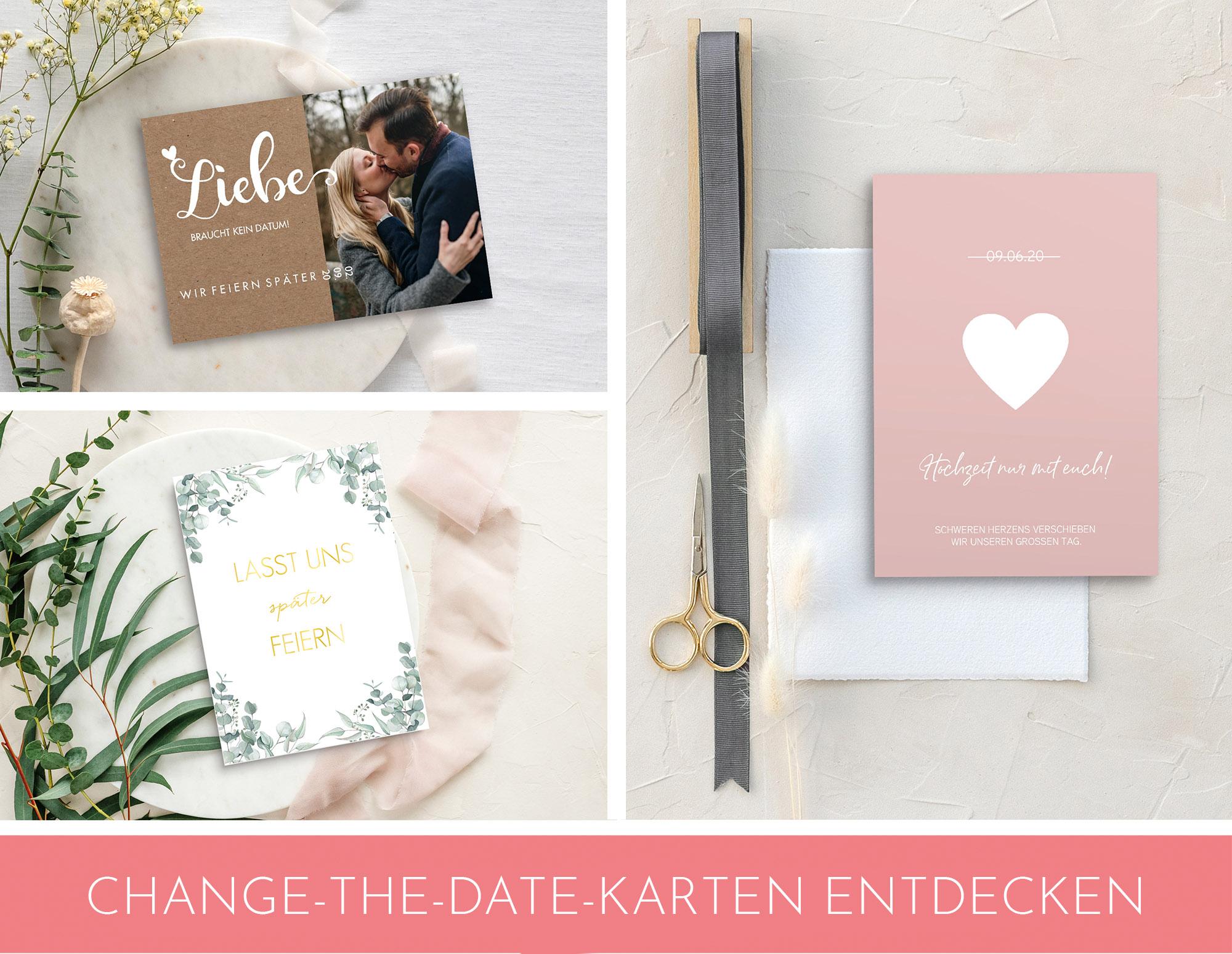 change the date Karten