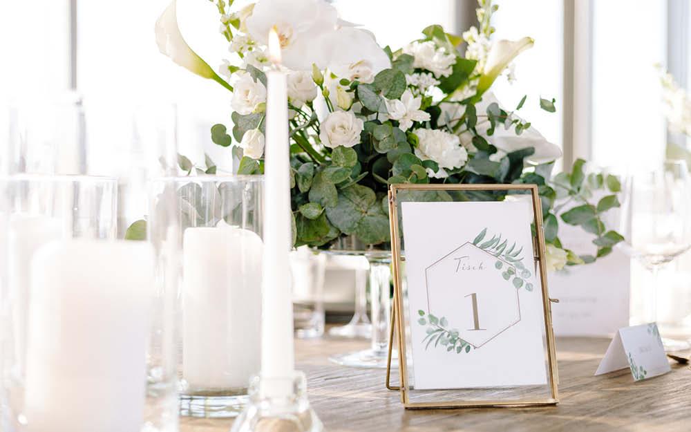 Eukalyptus Tischdeko Rund.Eukalyptus Deko Für Deine Hochzeit Tipps Tricks