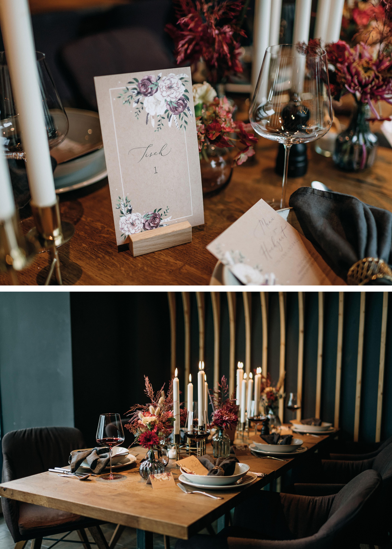 Hochzeit in der Stadt, Tischnummer