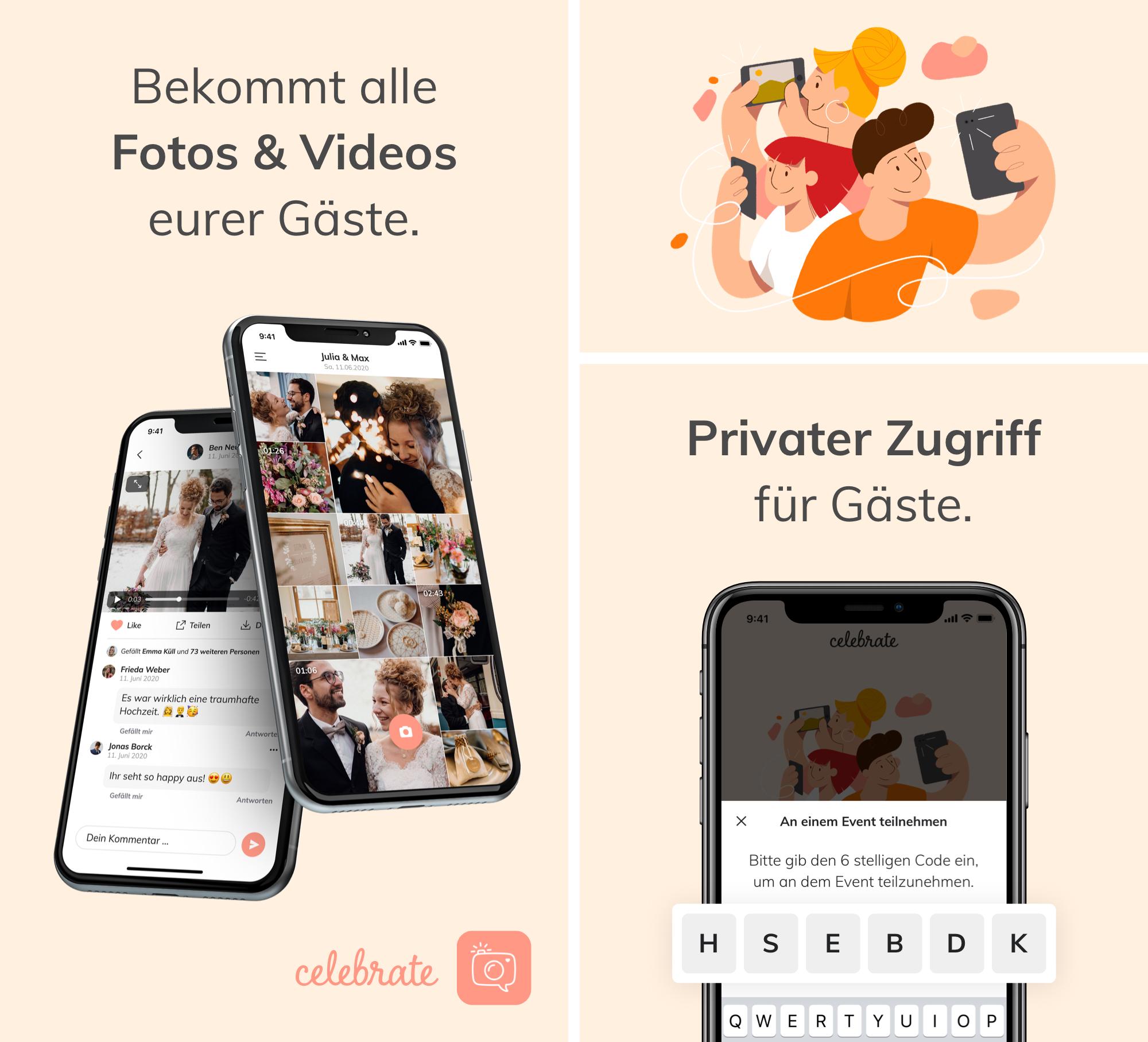 Eure Foto-App – celebrate