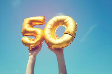Geburtstagswünsche zum 50.