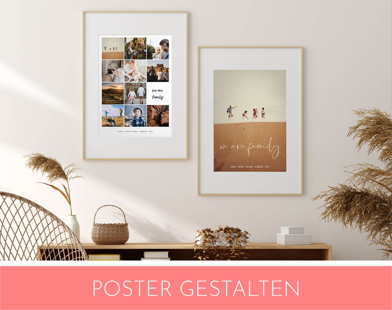 Collage mit zwei Postern