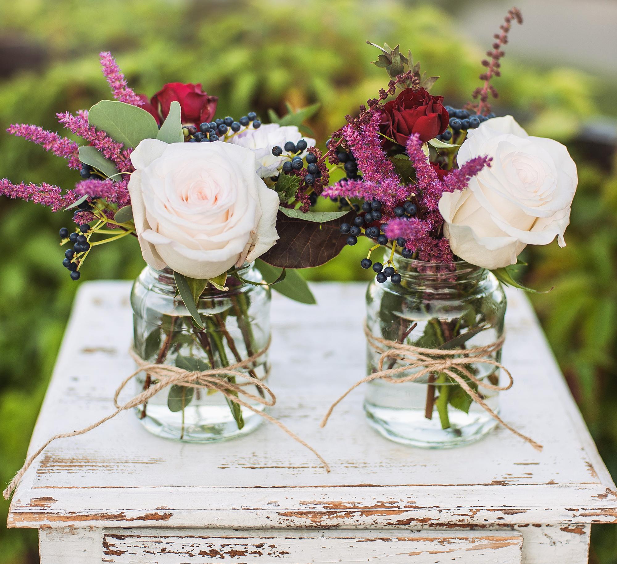 Blumendeko Hochzeit Selber Machen