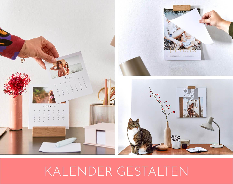 Collage aus unterschiedlichen Kalendern