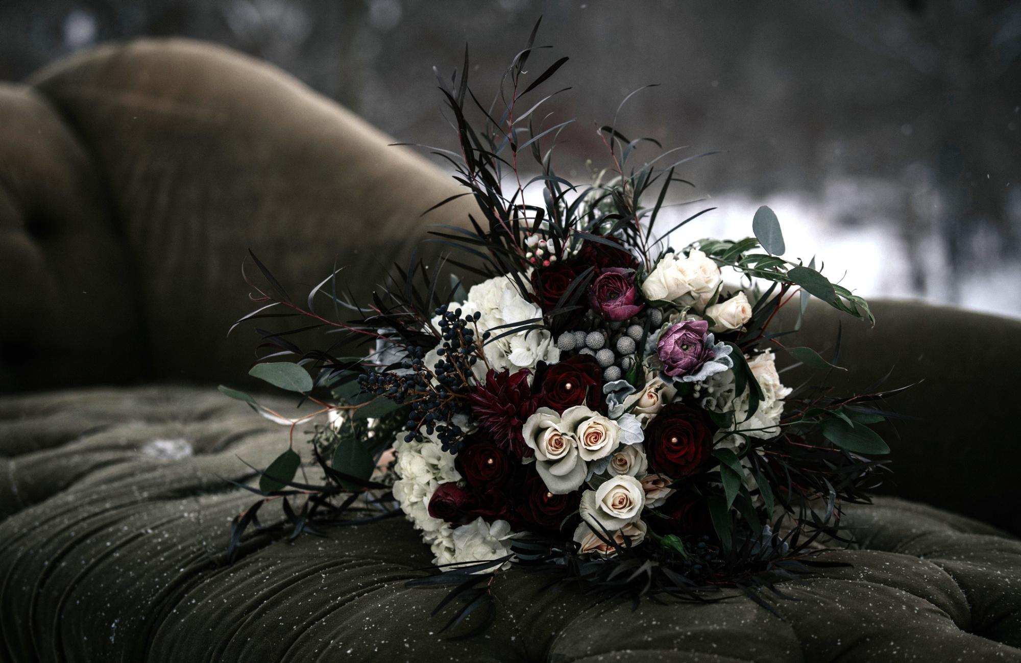Hochzeitstrend Dark Moody