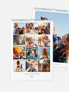 Wandkalender selbst gestalten mit eigenen Fotos